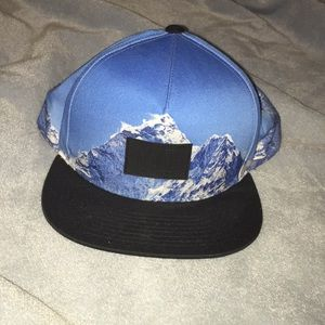 Men's NEFF mountain snap back hat